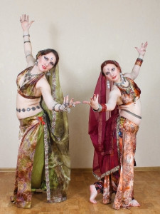 Raghumayi and Ariadna. Indian Tribal Fusion