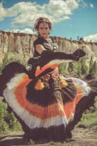 Raghumayi_American_Tribal_Style